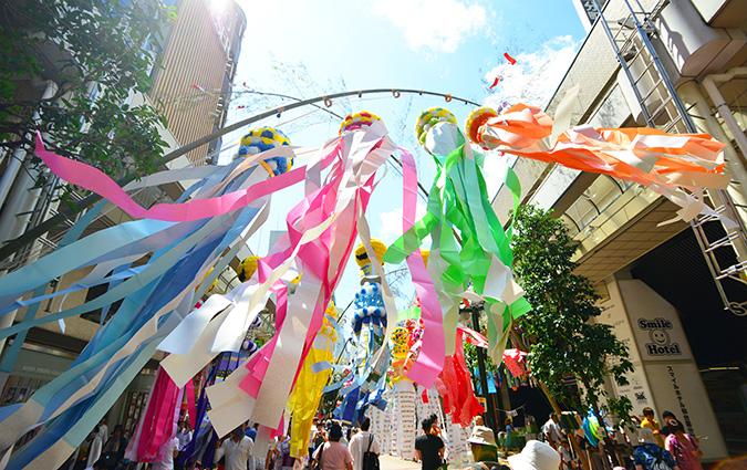東北三大夏まつり 仙台七夕まつりを徹底的に楽しむ!